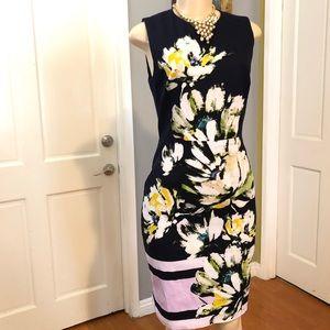 Maggy London Floral Sheath Dress